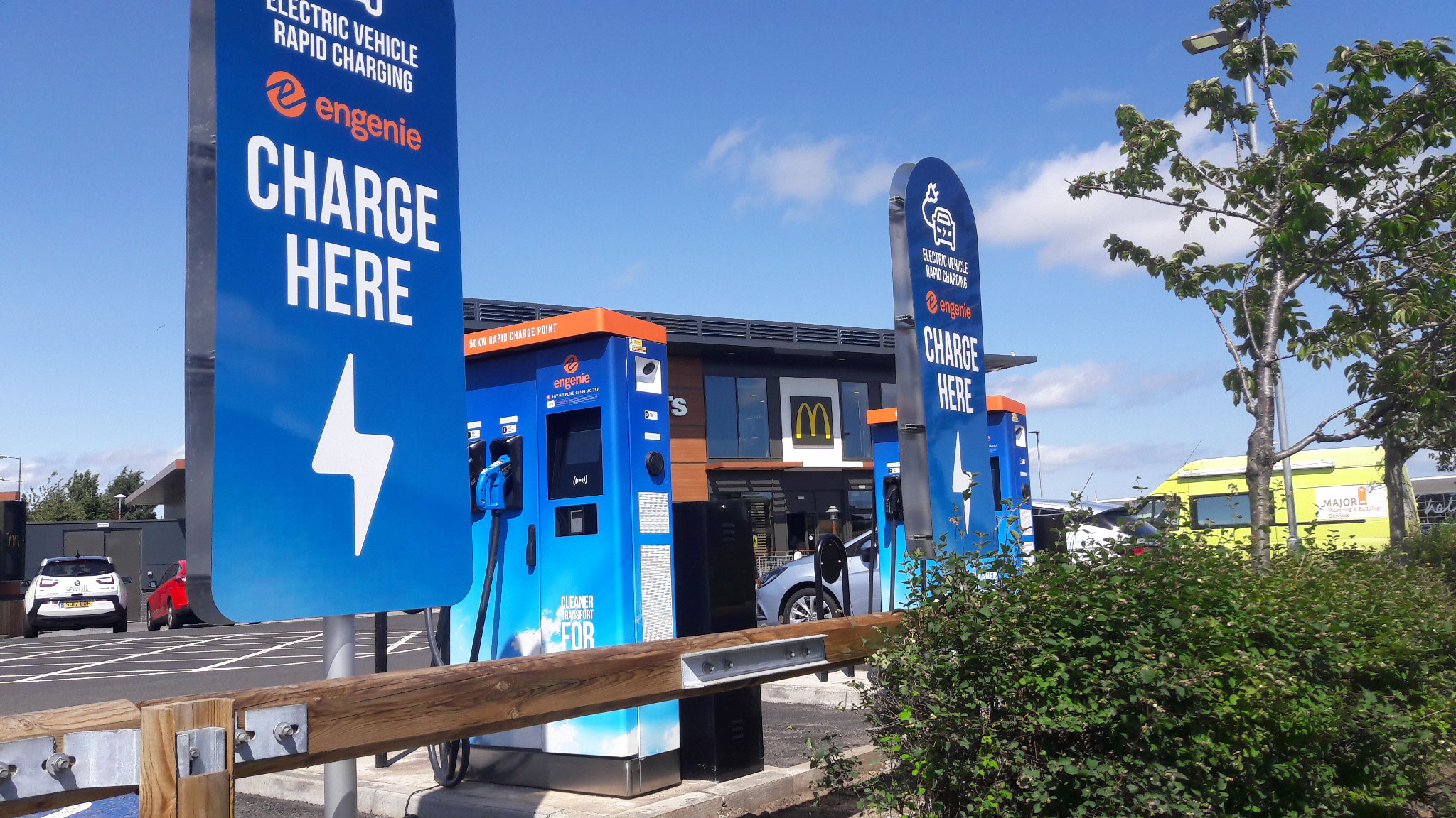 Signmark Car park Management E-guard EV charging signage